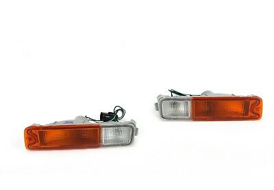 Mitsubishi Triton MK front bar indicator light left & right sides 1996-2006 pair