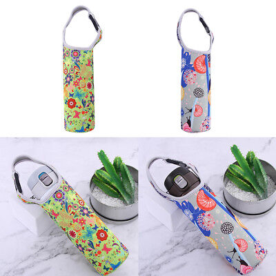 Baoblaze 2x Outdoor Kettle Holder Pouch Bottle Bags Cup Sleeve for 400-600ml