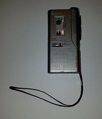 Sony M-530V Handheld Micro Cassette-Corder Tape Voice Recorder & Player