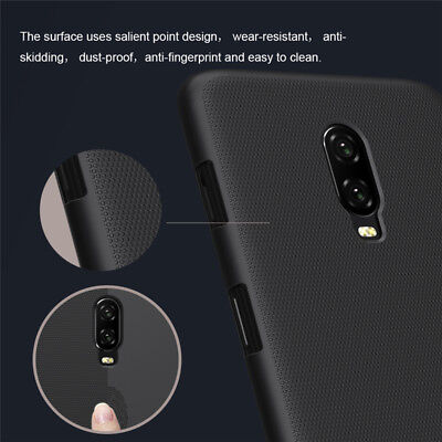 For OnePlus 6T NILLKIN Super Frosted Shield Protective Back Case Cover New