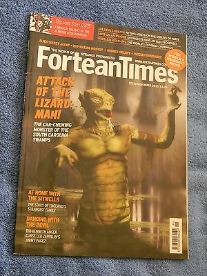FORTEAN TIMES #333 November 2015 Attack of the Lizard Man