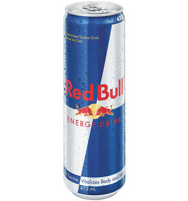 Red Bull Cans 473ml x 12