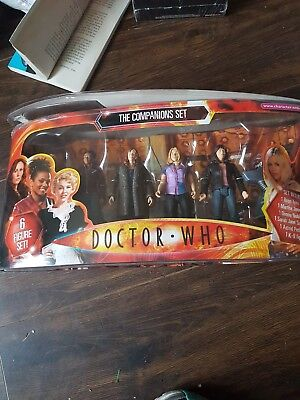 Doctor Who - The Companions Set - brand new but box is damaged