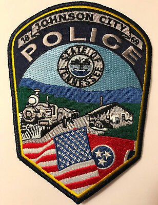 Johnson City Tennessee TN Police Sheriff Patch