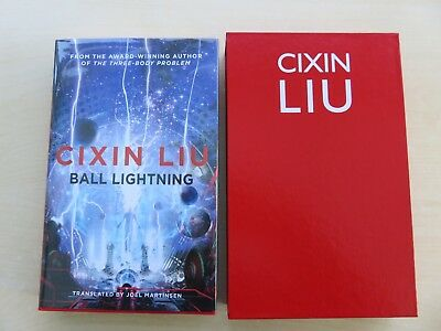 Ball Lightning by Cixin Liu signed numbered UK 1st edition