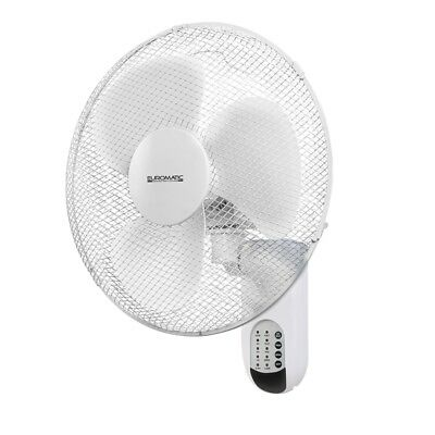 Euromatic 40cm Wall Fan With Remote Control