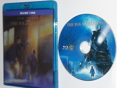 Polar Express Blu-ray disc + case only - FREE USPS FIRST-CLASS SHIPPING
