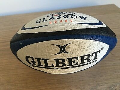 Official mini replica Gilbert Glasgow Warriors Rugby Ball (9-10)