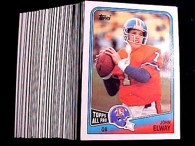 JOHN ELWAY  ~ 1988 Topps #23 Card ~ LOT OF 20 CARDS AT A VERY LOW PRICE ~  BV=$2