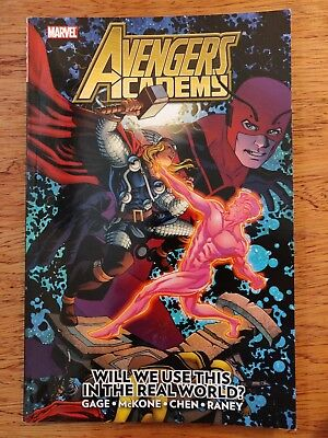 Avengers Academy Will We Use This in the Real World? Marvel Graphic Novel