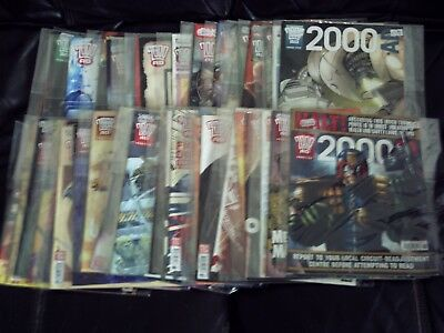Large Job Lot Of  50 X 2000Ad Progs, All 2010 And 2011