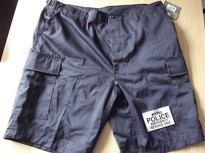 Cargo-Hose-Shorts-Pants NYPD-New York Police  Gr.L (35-39 Inch) ESU