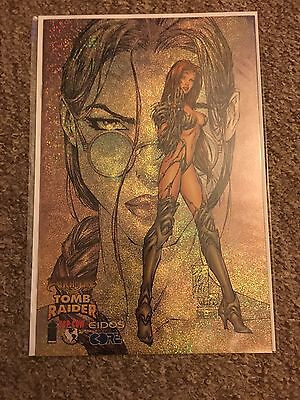Tomb Raider/Witchblade Comic