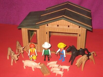 älteres Playmobil / altes Western  Gebäude /Ranch, Farmhaus