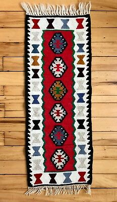 Wool Weaving Small Rug