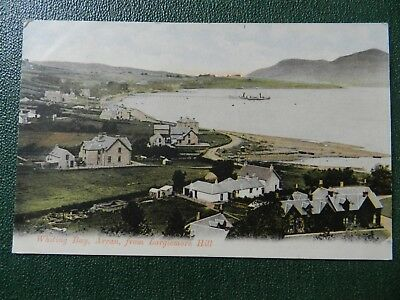 Old Postcard - Old Postcard - Whiting Bay , Arran From Largiemore Hill
