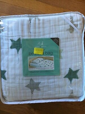 Aden and Anais Classic Toddler Bed in a Bag - Up Up and Away kids Bedding Sets
