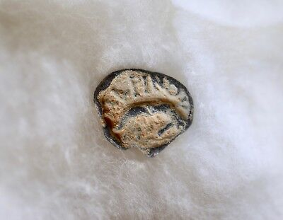 ROMAN LEAD SEAL OF MARINUS (2nd-3rd cent.). EXCELLENT AND UNIQUE PIECE!