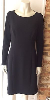 BERNSHAW Black Stretch Cocktail,Dress New with Tags £155 Uk 14 fits smaller 12