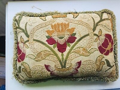 Small Antique Cushion / Pillow