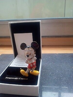 Swarovsky Crystal Mickey Mouse Limited Edition