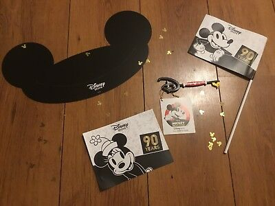 New & Rare Disney Store 90 years of Mickey Mouse Key You Can't Buy This & More