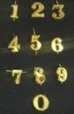 Civil War Reproduction Brass Hat Number 0-New