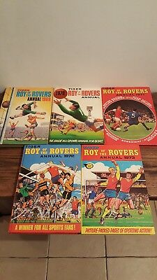 Roy Of The Rovers annuals 1969 1970 1971 1972 1973 football Comic