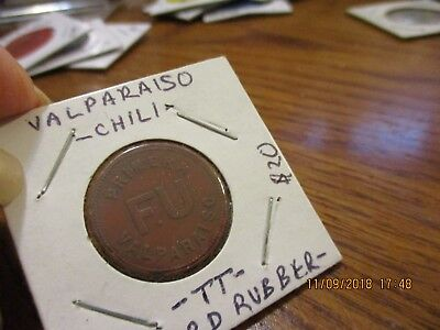 Transportation Token - Chile - Free Shipping