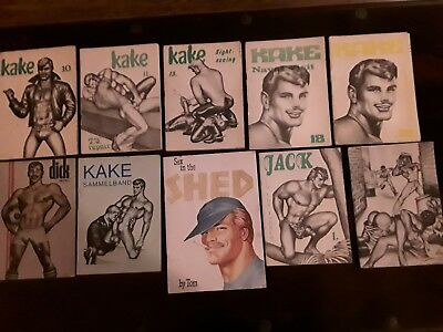 Konvolut. Tom Of Finland. Bildband u. 10 Comics. 70er Jahre. RAR!
