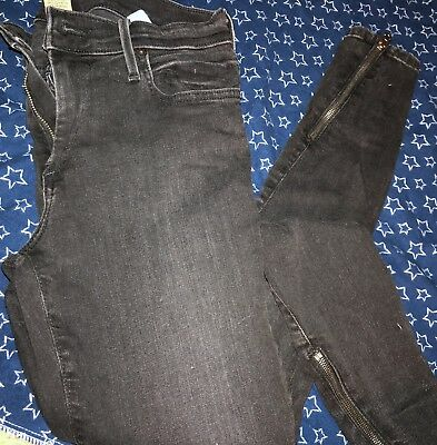 true religion womens jeans size 28: Halle Mid Rise Super Skinny