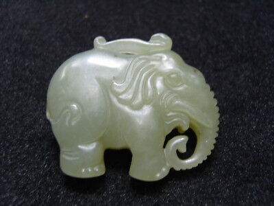 FINELY CARVED  CHINESE Jade Statue/ Pendant   - See Video        11