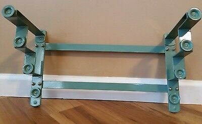 New Nystrom 4 Map Stepped Hanger Mount Rack Pulldown Maps Classroom Homeschool