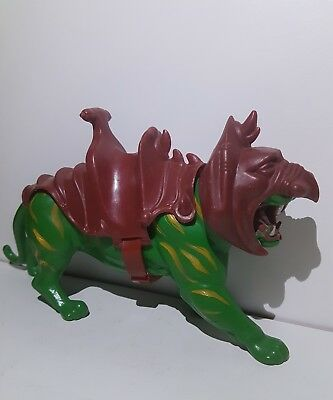 MOTU Masters of the Universe Battle Cat Taiwan 1983 Mattel Inc. Mit Zubehör komp