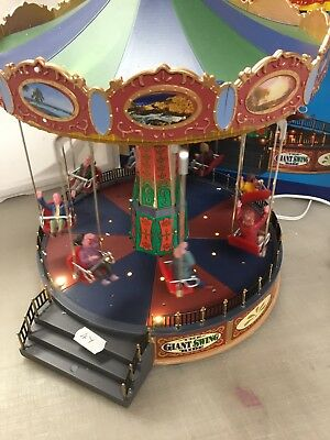 Lemax The Giant Swing Ride 44765 Needs Attention 47