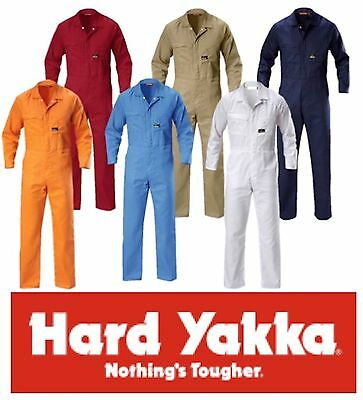 Hard Yakka Lightweight / Summerweight Drill Cotton Overall / Coverall Y00030