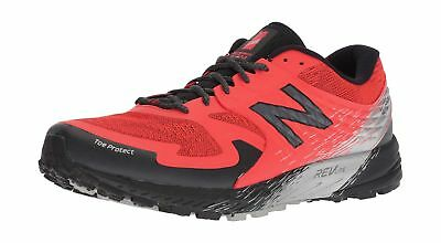 NEW BALANCE SUMMIT K.O.M. Toe Protect Trail shoes Sz 13 Red
