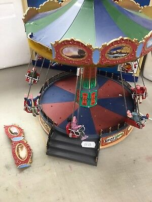 Lemax The Giant Swing Ride 44765 Needs Attention 53