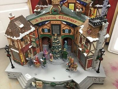 Lemax Victorian Christmas NOT WORKING 45734 55