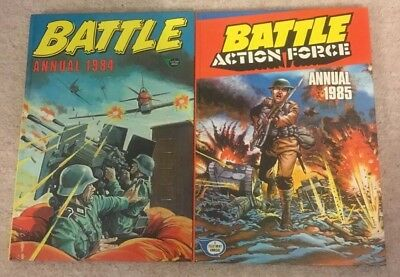 Battle Annual 1984 & 1985 - Charley's War / Johnny Red