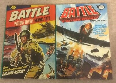 Battle Picture Weekly Annual 1979 & 1980 - Charley's War / Johnny Red