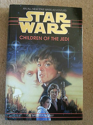 Star Wars - CHILDREN OF THE JEDI - Original UK Hardback BOOK - NEW