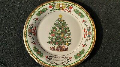 Lenox 2018 Trees Around the World Portugal Annual Christmas Collectible Plate