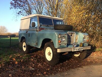 Land Rover series 3 tax and Mot exempt, 300 tdi engine