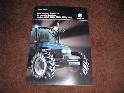 New Holland 35 Series Tractor Brochure