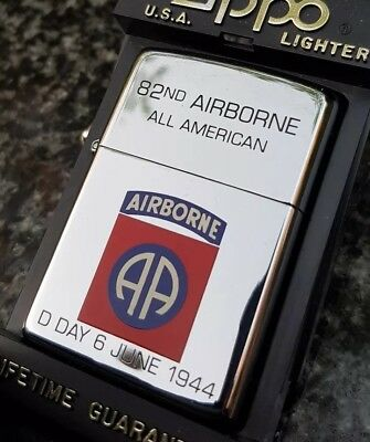 Zippo, D Day 6 June 1944, All American 82Nd Airborne Lighter (Extremely Rare)