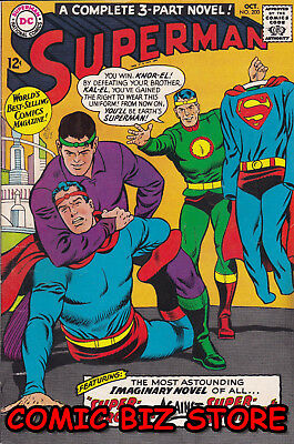 Superman #200 (1967) 1St Printing Silver Age Dc Fn+ 6.5 Bagged & Boarded