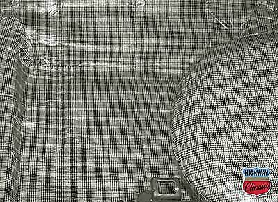 1965-66 Mustang Coupe / Convertible Trunk Mat - Plaid