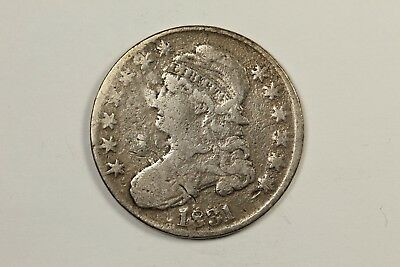 1831 Contemporary Bogus Capped Bust Half