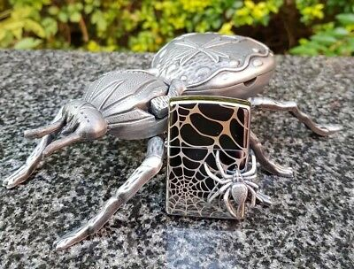 Zippo, 3D Spider On Edge, Lighter Limited Edition (Extremely Rare)